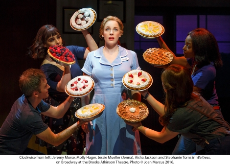 Waitress MUSICALORIGINAL BROOKS ATKINSON THEATRE 256 W. 47TH ST.