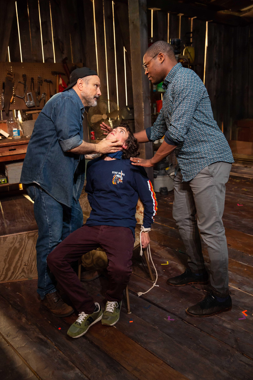 Enrico Colantoni, Alexander Garfin, and Obi Abili. Photo is by Jeremy Daniel (7)