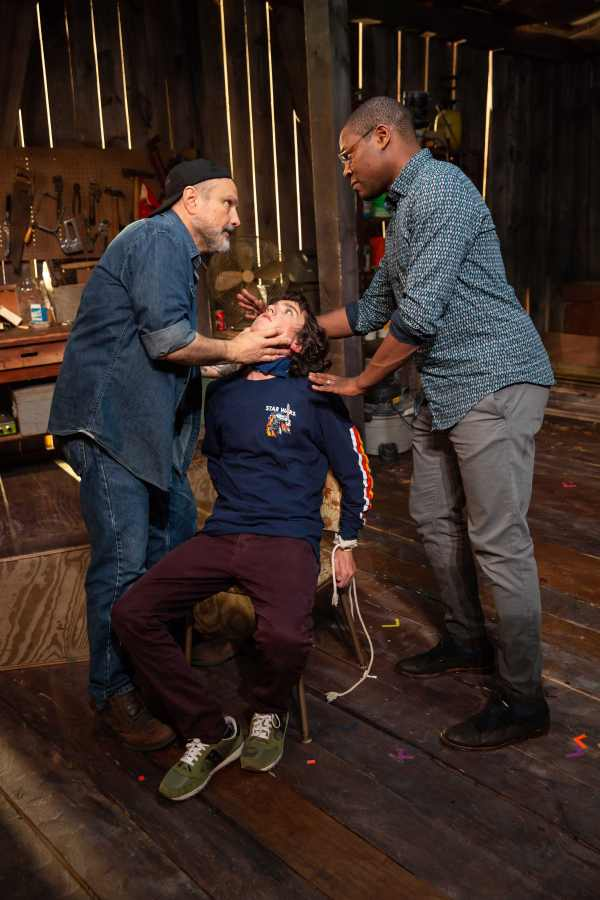Enrico Colantoni, Alexander Garfin, and Obi Abili. Photo is by Jeremy Daniel (7)